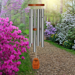 Personalize It! Sympathy Amazing Grace Chime - Medium Silver, Forever main image