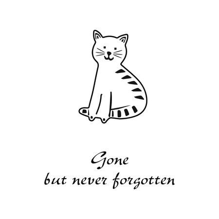 Personalize It! Pet Sympathy - Cat Amazing Grace Chime - Medium, Silver, Not Forgotten musical scale