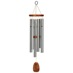 Personalize It! Housewarming Amazing Grace Chime - Medium, Silver, Home Sweet Home main image
