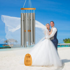 Personalize It! Wedding Chime – Hearts - Love and happiness main image