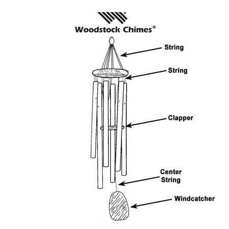 Repair Kit for Signature Chimes that have a 8.25-inch top alternate image