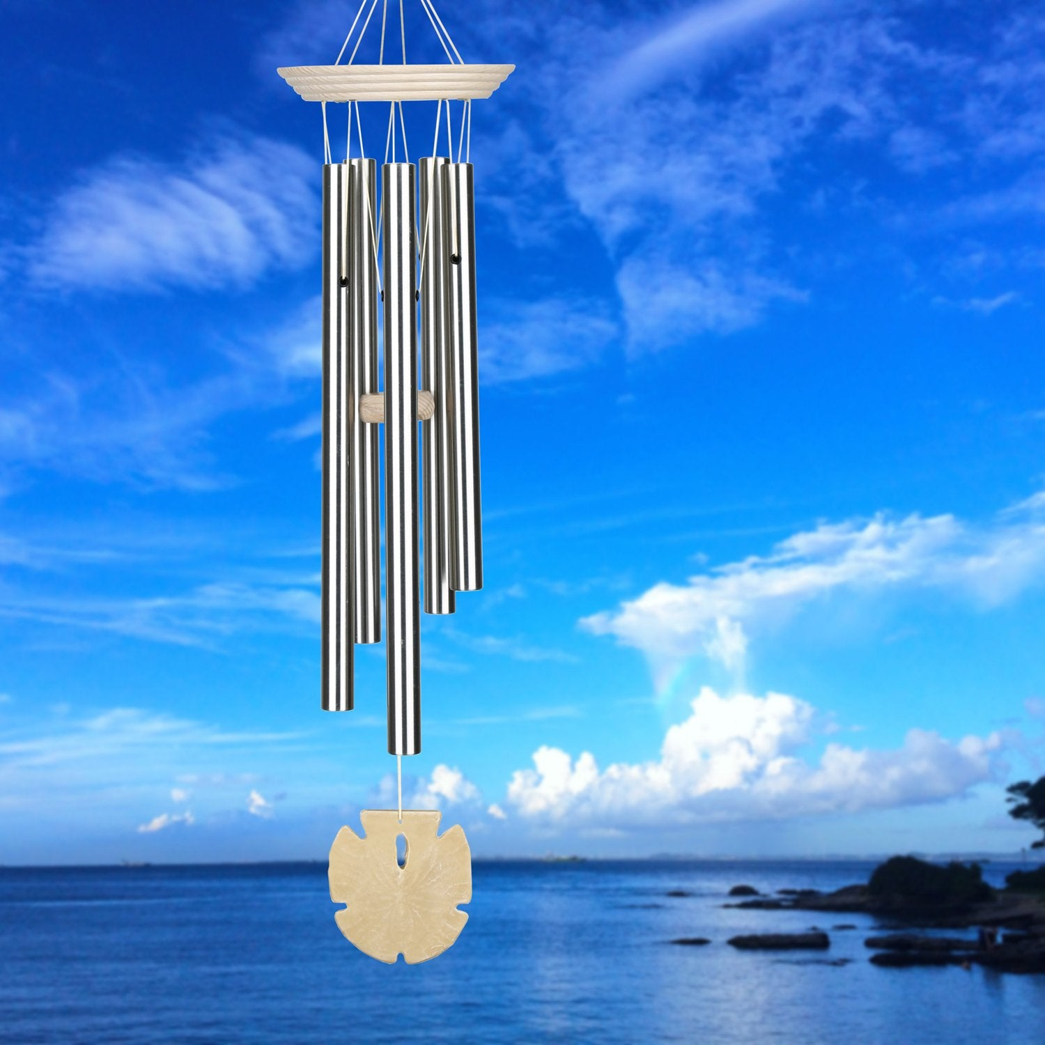 Seashore Chime - Sand Dollar lifestyle image
