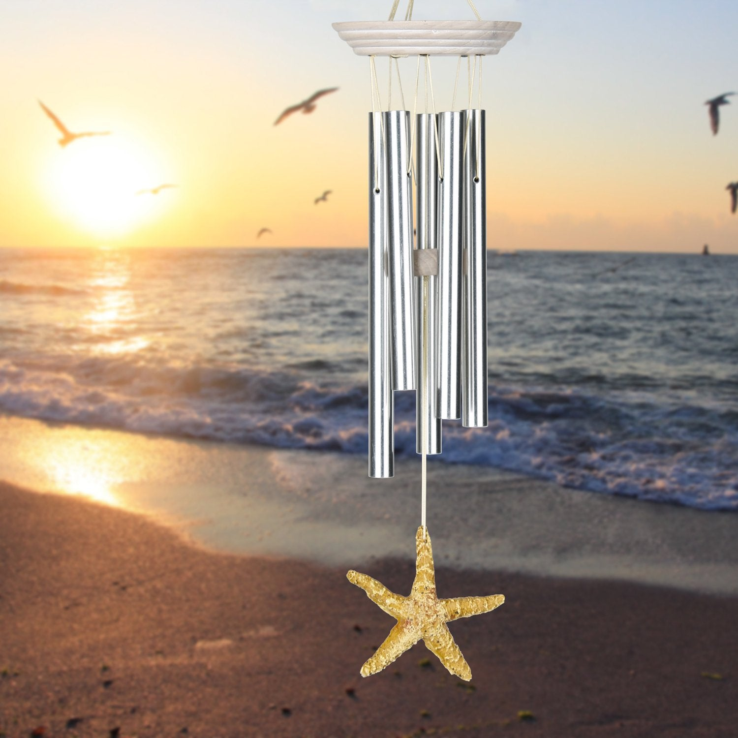 Seashore Chime - Sea Star lifestyle image