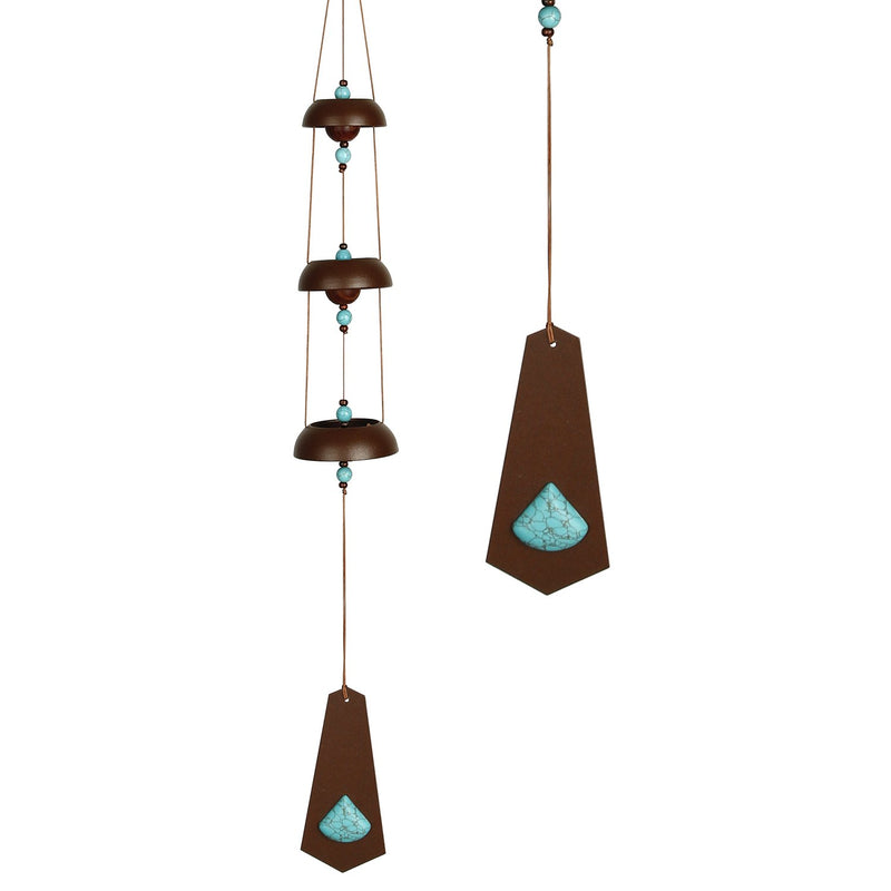 Woodstock Rustic Chime - Turquoise main image