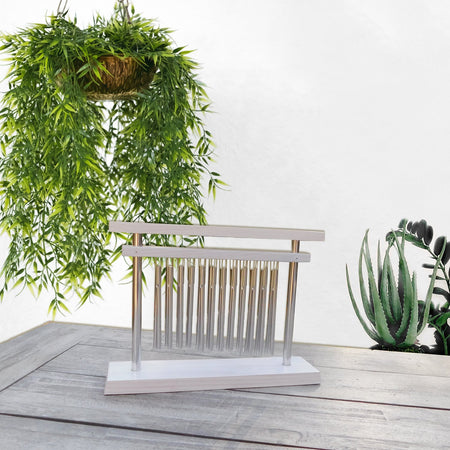 Tranquility Table Chime - White lifestyle image