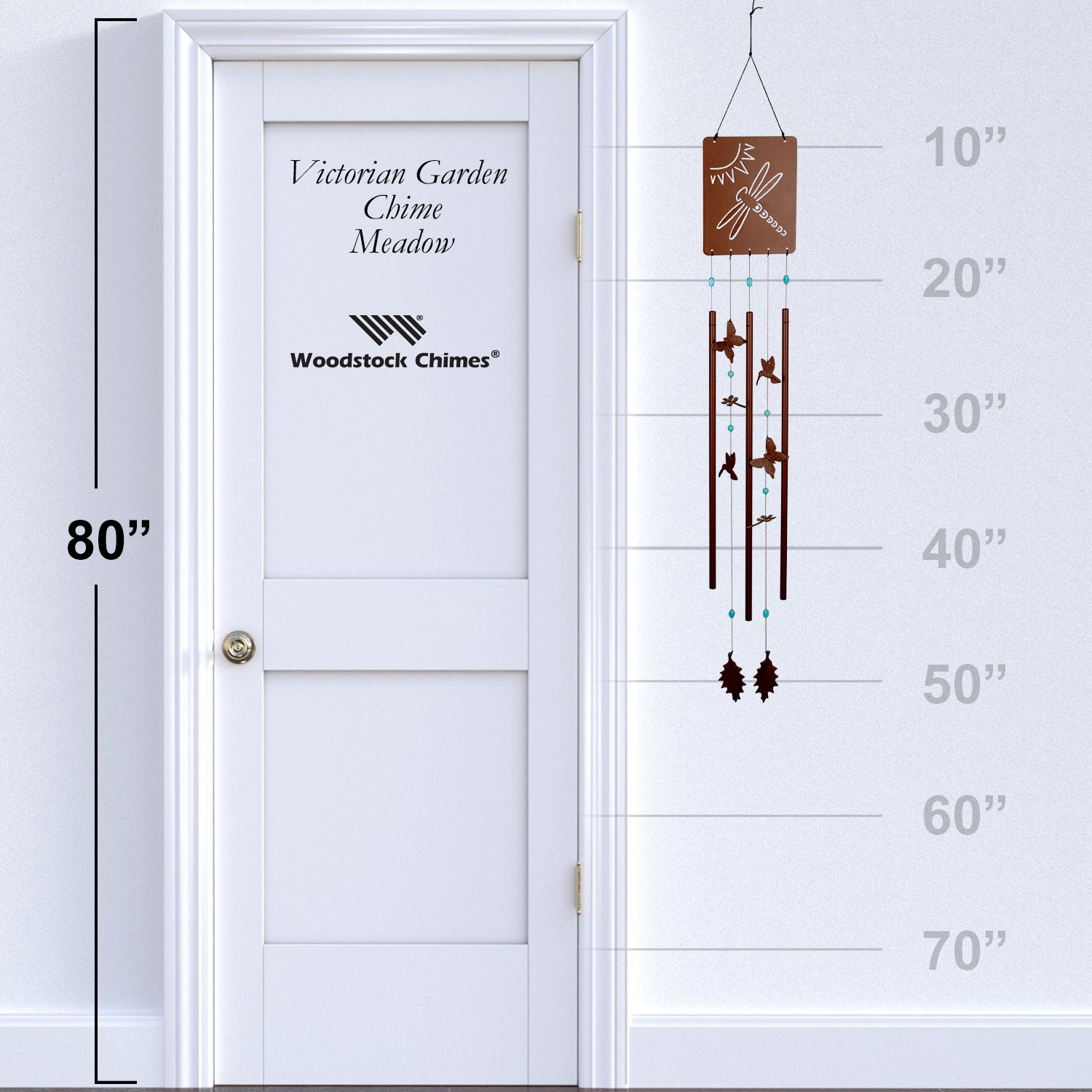 Victorian Garden Chime - Meadow proportion image