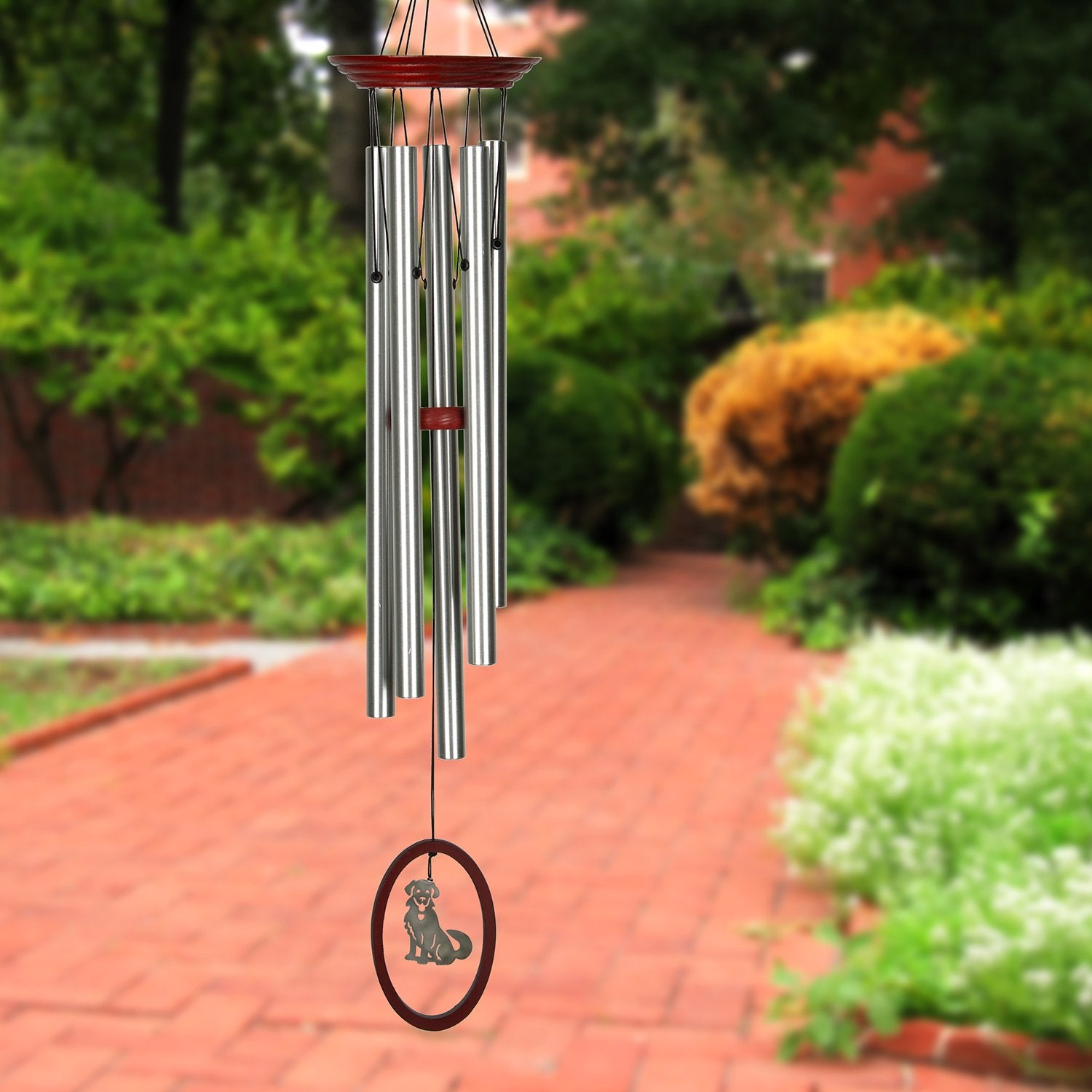 Wind Fantasy Chime - Dog lifestyle image