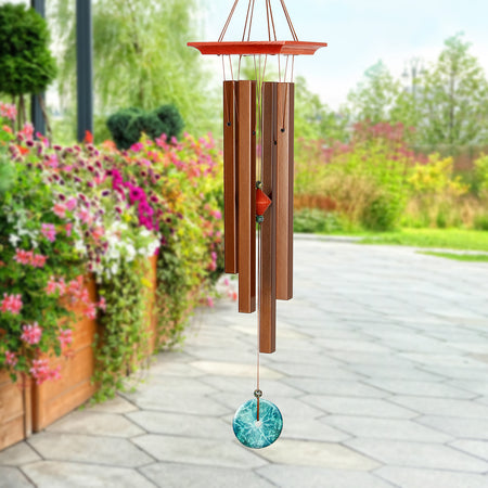 Turquoise Chime - Medium musical scale