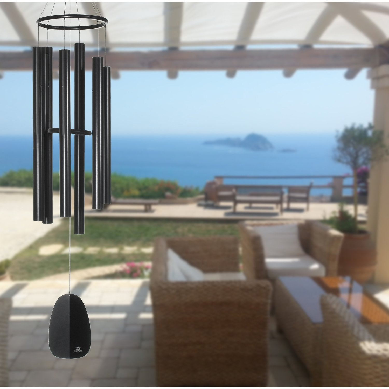 Windsinger Chimes of Apollo - Black lifestyle image
