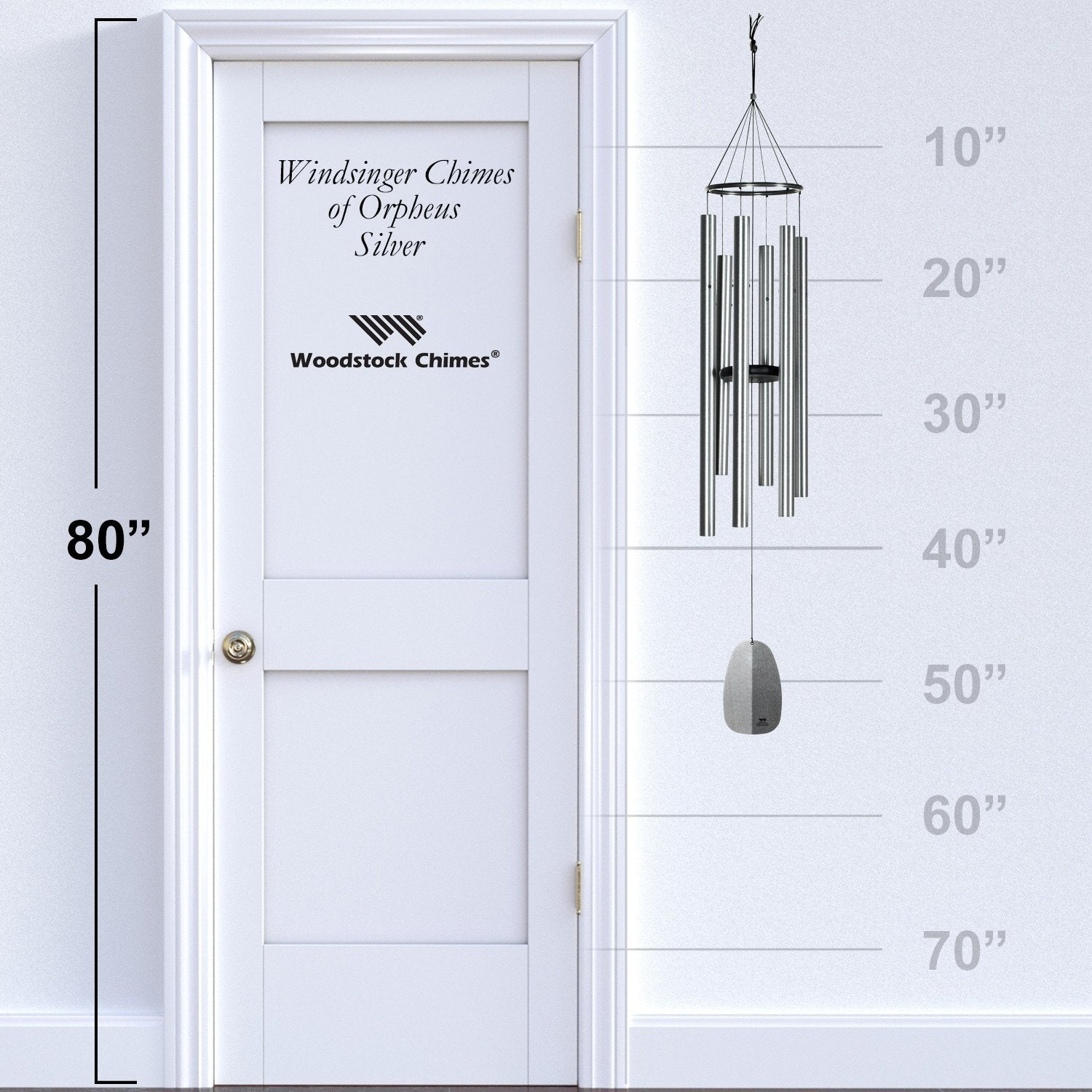 Windsinger Chimes of Orpheus - Silver proportion image