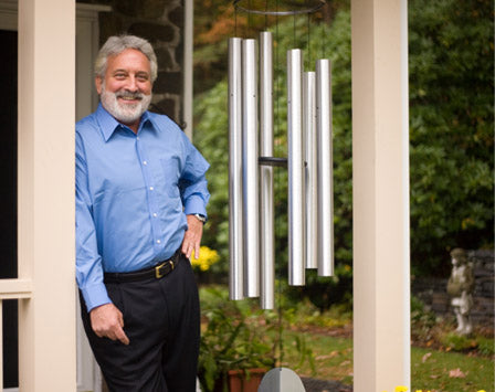 Meet the chimemaker - Garry Kvistad, founder and owner of Woodstock Chimes