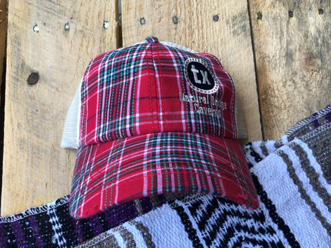 Plaid Red Hat