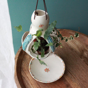 Hanging Planter with plate