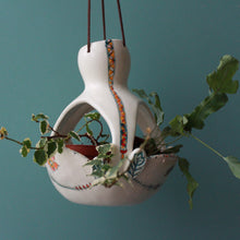 Load image into Gallery viewer, Hanging Gourd Planter