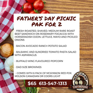 Father's Day Picnic Pack For 2