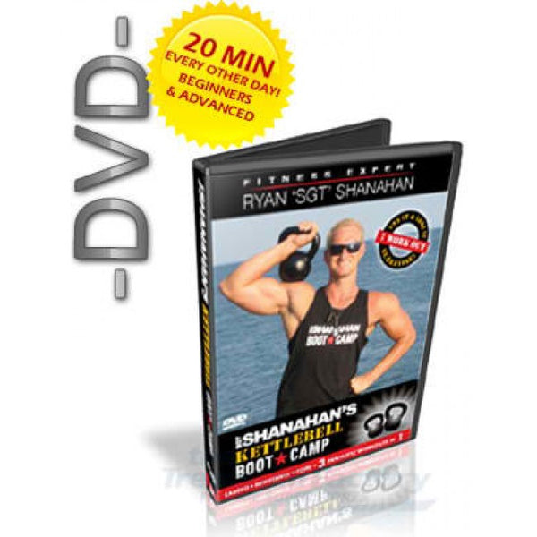 Kettlebell Bootcamp DVD - for Beginners & Advanced