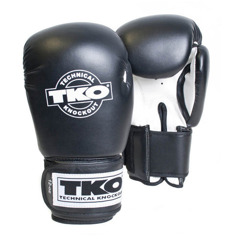 TKO Neoprelux Boxing Gloves - 12oz White