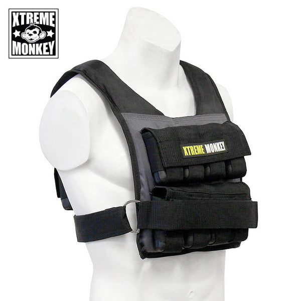 Xtreme Monkey Adjustable Commercial Weight Vest 45lbs