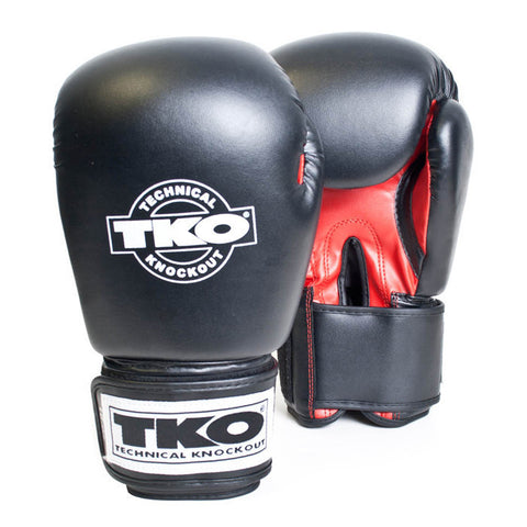 TKO Neoprelux Boxing Gloves - 16oz Red