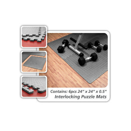 6pcs. Interlocking Floor Mats