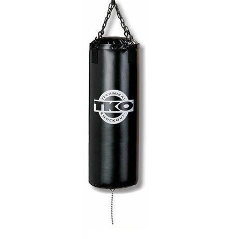 TKO 25 lbs Vinyl Heavy Bag: Bag Chain Included