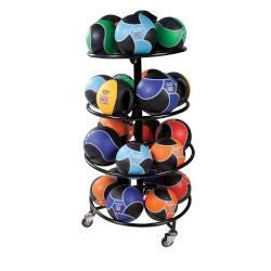 Ultra 4 Tier Med Ball Tower -Black