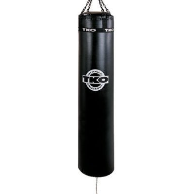 TKO Muay Thai 125 lbs Heavy Bag: Bag Chain Included