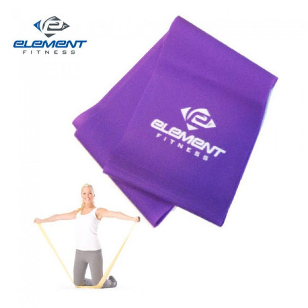 Element Fitness 4' Resistance Bands Level 2