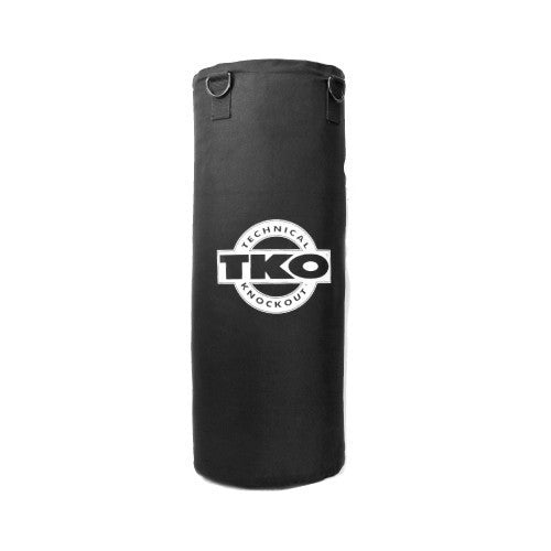 TKO 50 lbs Canvas Heavy Bag - Bag Chain Included