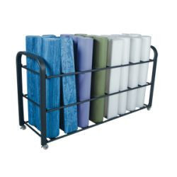 Club Foam Roller Cart