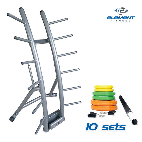 Cardio Pump Group Pack - 10 Sets plus Rack