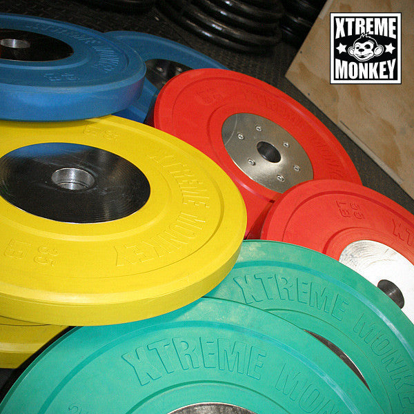 Xtreme Monkey 320lbs Competition Bumper Plate Set