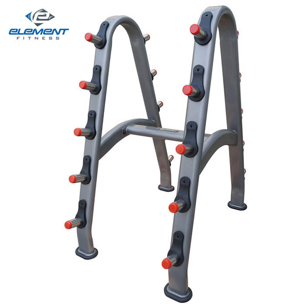 Element Fitness Commercial Barbell Rack