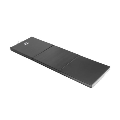 2' x 6' Folding Black Exercise Mat