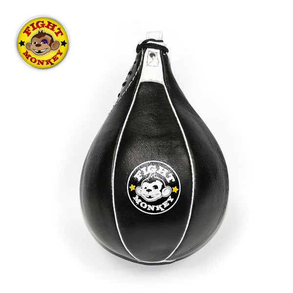 Fight Monkey Leather Speed Bag
