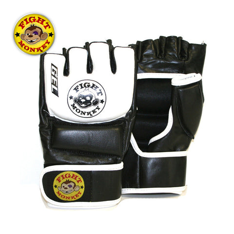 Fight Monkey Leather MMA/Bag Gloves