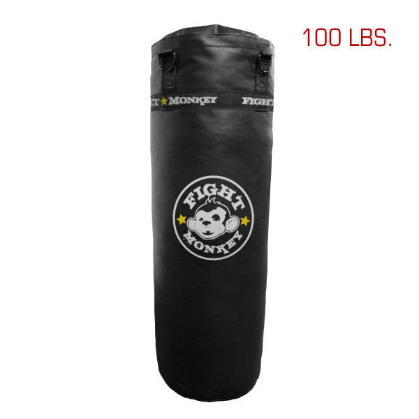 Fight Monkey Commercial Vinyl Heavy Bag - 100 lbs