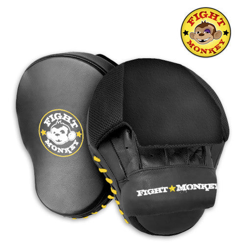 Leather Focus Mitt Pair