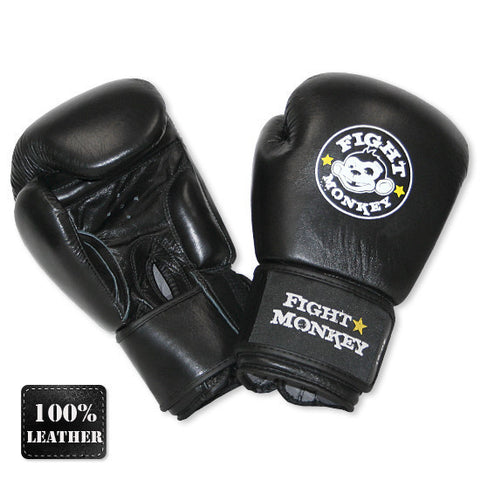16oz Leather Training Gloves
