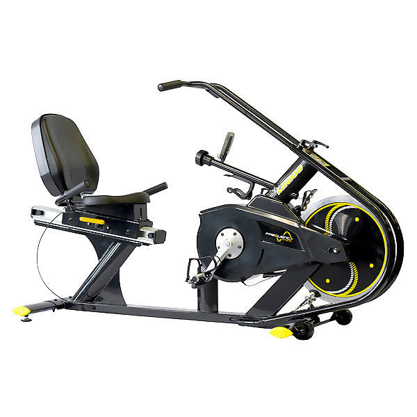 MR100 Commercial Recumbent Magnetic Indoor Cycle