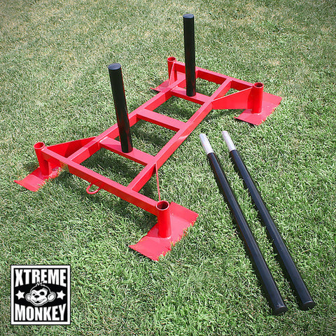 Professional Driving Power Sled Red