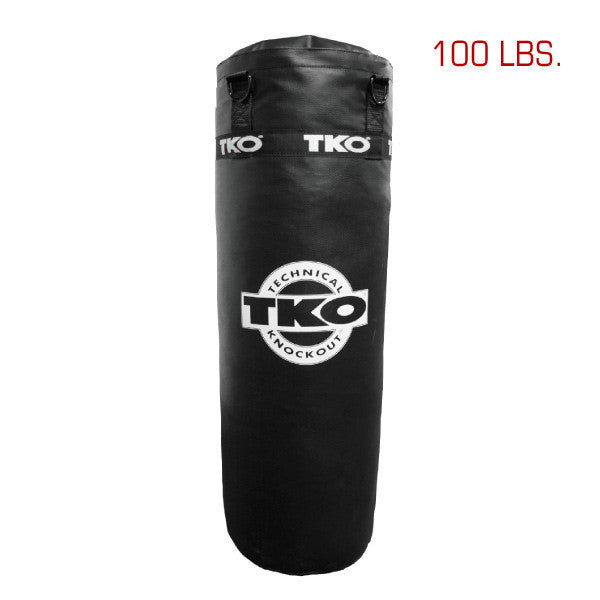 TKO 100 lbs Vinyl Heavy Bag: Bag Chain Included
