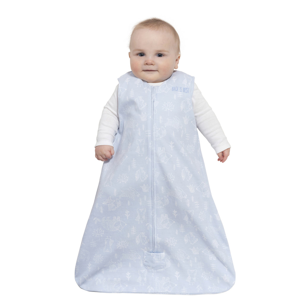 Halo SleepSack Wearable Blanket Blue Woodland Etch