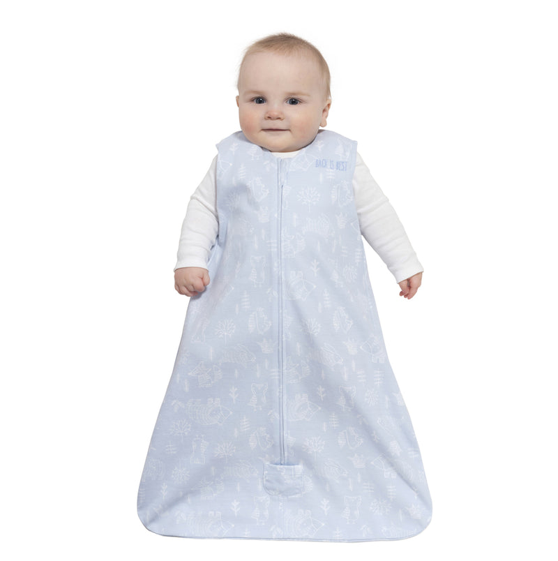 Halo SleepSack Wearable Blanket Blue Woodland Etch - Tadpole