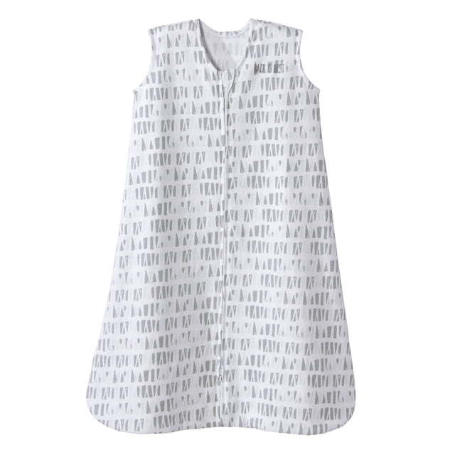Halo SleepSack Wearable Blanket Grey Squares & Triangles