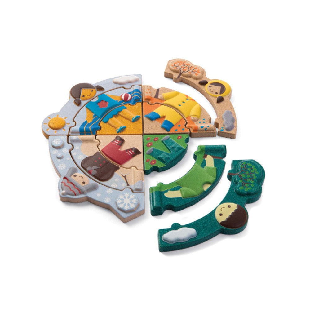 Plan Toys Weather Dress-Up Puzzle