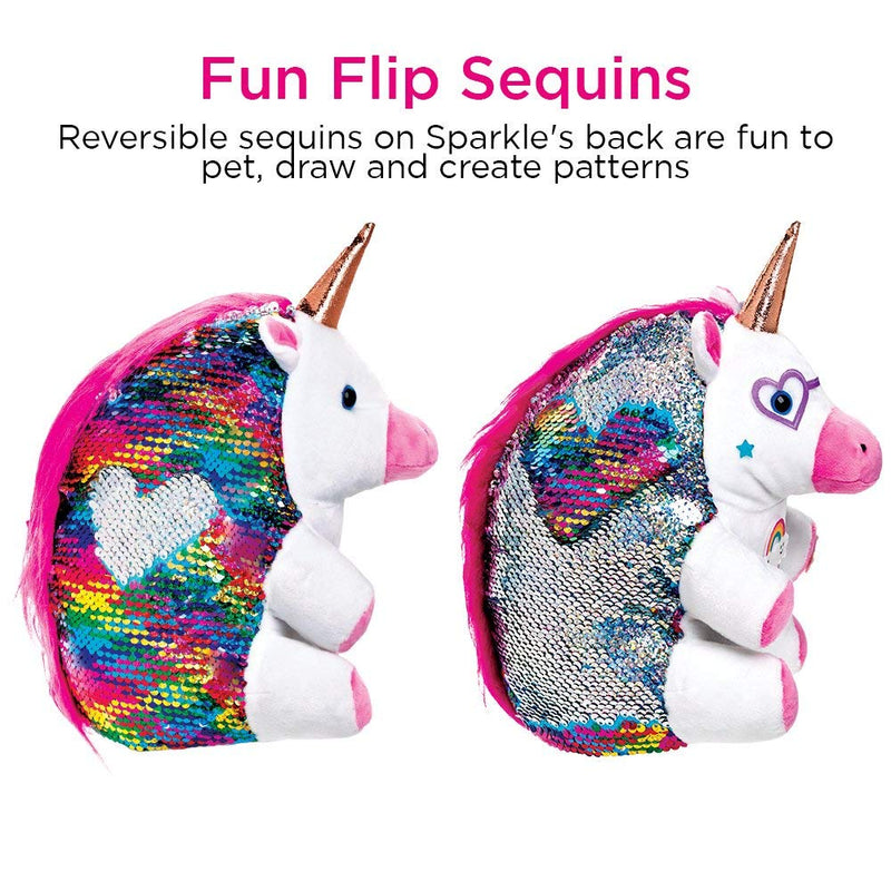 Creativity For Kids Sparkle the Unicorn Sequin Pet