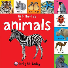 Bright Baby Lift-The-Tab: Animals