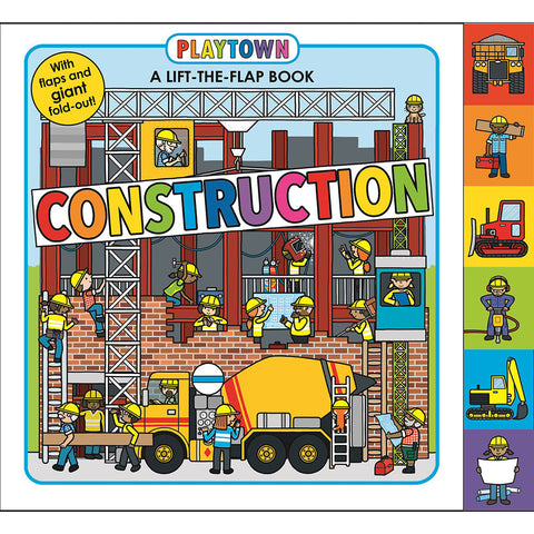 Playtown Lift-The-FlapTab: Construction