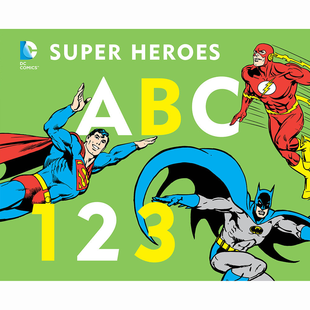 Super Heroes ABC 123
